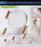 memoria di vetro del migliore regalo 380ml che desidera la bottiglia di spostamento con sughero