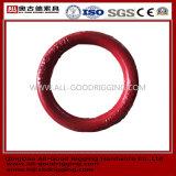 Froged strich Farben-runden nicht geschweißten runden Ring an