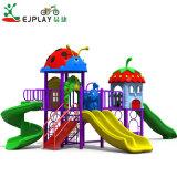 Slide de plástico pequeno parque infantil Kids parque ao ar livre