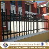 Résolues & Anti-Rust panneaux de clôture moderne en aluminium