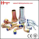GB \ ajustage de précision hydraulique métrique \ de SAE \ Bsp/Jic acier inoxydable de tube