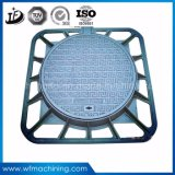 Dekking van het Mangat van het Ijzer van Dutile van de Gieterij van China de Vierkante met Frame om het Openen van de Dekking 600X600 van het Mangat