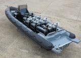 O Parque Aquático Aqualand 30pés 9m tubo rígido de desportos inflável Barco/barco policial/barco de passageiros ((COSTELA900)