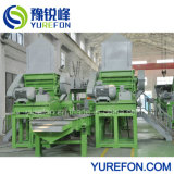 Einzelne Plastikwelle-zerreißende Maschine für die Wiederverwertung des verwendeten Gummireifens
