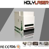 De Laser die van de vezel Machine voor Silicium van het Roestvrije Staal van pvc het Plastic merken