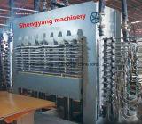 Pressione a quente 600t de contraplacado de máquina