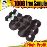 Prolonge brésilienne de cheveu de la mode 10A (KBL-BH)
