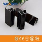Perfil de alumínio do revestimento Electrophoretic de bronze de Electropholesis para a indústria das portas de Windows
