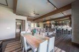 2018 face ronde en bois de placage de noyer Armoire de cuisine Home Meubles Meubles design