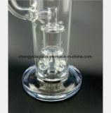 9.45 van het Glas van de Waterpijp van de Bloem van de Knop van de Filtratie van de Olie Duim van de Pijp van de Terugwinning