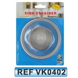 Сетка из нержавеющей стали раковину сетчатый фильтр (VK0402)