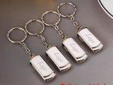 Hotsell mit Keychain Schwenker-Großverkauf USB-Metall (GC-M023)