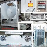 Tres posición de alimentación de la máquina de lavandería Máquina de alimentación Equipo de lavar