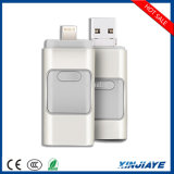 iPhone를 위한 HD OTG Mobile Phone USB Flash Drive, Iflash Drive U Disk 및 Android Phone 8g/16g/32g/64G