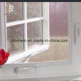Salto térmico de manivela de aluminio blanco de abrir la ventana