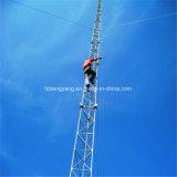 강철 받침줄 신호 통신 타워의 둘레에 직류 전기를 통하는