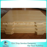 Placa de desbastamento de bambu de bambu da placa de estaca da tampa de caixa da placa de bambu natural da cor
