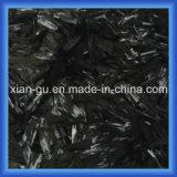 Hilos de la fibra del carbón