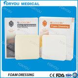 Fenestrated het Kleden zich van het Schuim Tracheostomy Medische Product van het Polyurethaan