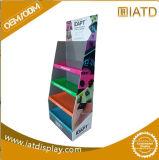 創造的なデザインLEDランプのボール紙のフロア・ディスプレイの立場