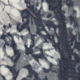 100% Silk 5.5mm Crinkle Georgette com impressão digital
