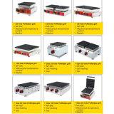 100 отверстия Poffertjes гриль машина используется в коммерческих целях