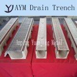 Оцинкованный Скрип крышки люка полимерные линейные слейте траншеи для дождевой воды дренажного канала