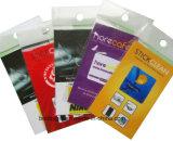 Autoadesivo del pulitore del telefono mobile con l'imballaggio specifico