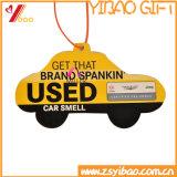 O design do carro desodorizadores de ar de papel com o logotipo personalizado (YB-AF-01)