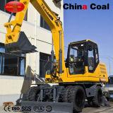 Jhl70 7 tonelada 2 WD o 4WD de la excavadora de ruedas