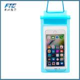 Sac imperméable à l'eau de 100% de téléphone mobile imperméable à l'eau de monture filtre