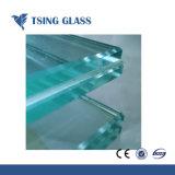 PVB Sentryglas 필름을%s 가진 6.38-12.38mm 명확한 색을 칠한 박판으로 만들어진 유리