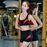Высокое качество быстро суша костюм пригодности женщин костюма спортов Jogging