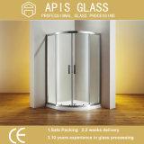 China-bester flacher Rand-freier sich hin- und herbewegender ausgeglichener Schwingen-Dusche-Tür-Glas-Großverkauf