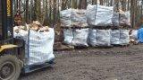 Haut de page, fond plat d'ouverture complète du bois de chauffage Sac Jumbo