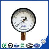 セリウムが付いている中国の精密機械のアセチレン圧力計
