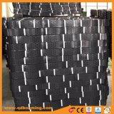 150мм HDPE Geocells черного цвета