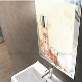 Установленный стеной датчик движения рекламируя волшебное зеркало