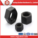 Gr8.8 Ecrou hexagonal noir haute résistance
