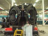 instalação de tubo de HDPE máquina de soldar 02