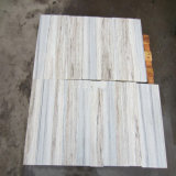 Cristal Branco mármore de madeira utilizado para pisos e azulejos de parede