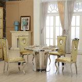Mesa de jantar redonda de mobiliário moderno barato