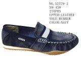 Fou Chaussures en cuir pour hommes de couleur Mode chaussures de sport occasionnel