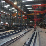 大きいスパンの鉄骨構造の研修会か倉庫