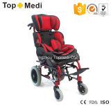 Cadeira de rodas manual de alumínio das crianças da paralisia cerebral de Topmedi