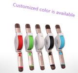 iPhone를 위한 다채로운 점화 2 In1 철회 가능한 USB 케이블