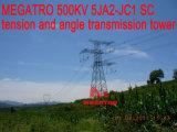 Torre da transmissão da tensão e do ângulo do Sc de Megatro 500kv 5ja2-Jc1