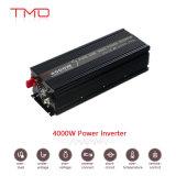 Надежный инвертор 24VDC солнечной силы 4000W к AC 120V/220V/230V с индикации СИД инвертора волны синуса решетки чисто