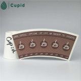 Hztl progetta il PE per il cliente ricoperto ventilatore della tazza di carta di prezzi