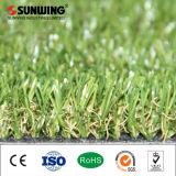 아름다운 녹색 정원 훈장 조경 인공적인 잔디